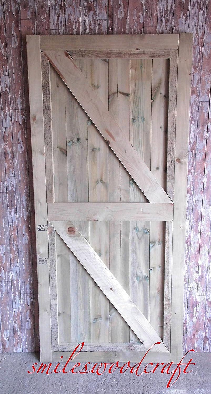 W H x 180cm L x 5cm Smileswoodcraft Wooden Garden Gates 99cm