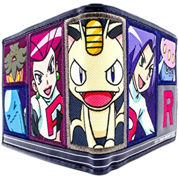 Cartera de Nintendo Pokemon Equipo Rocket Meowth Armada: Amazon.es: Equipaje