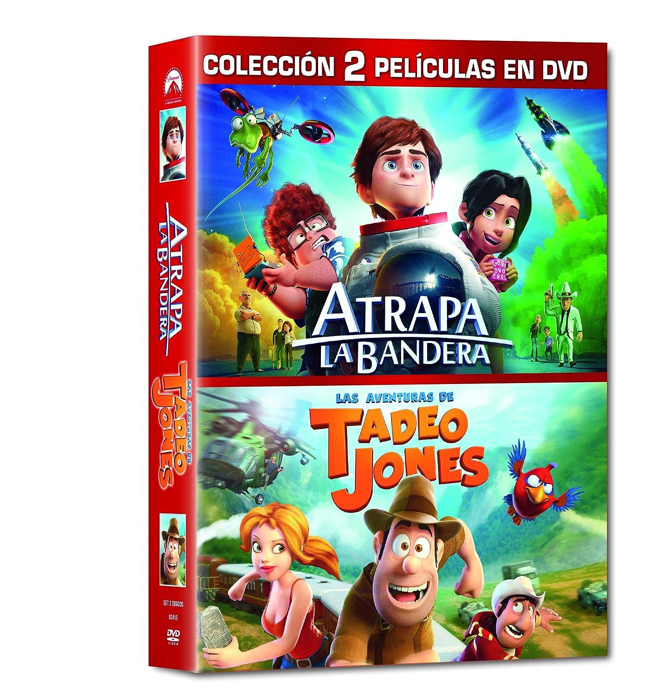 Pack: Atrapa La Bandera + Tadeo Jones [DVD]: Amazon.es: Personajes animados, Enrique Gato, Personajes animados, Telecinco Cinema, Telefónica Studios, Los Rockets AIE: Cine y Series TV