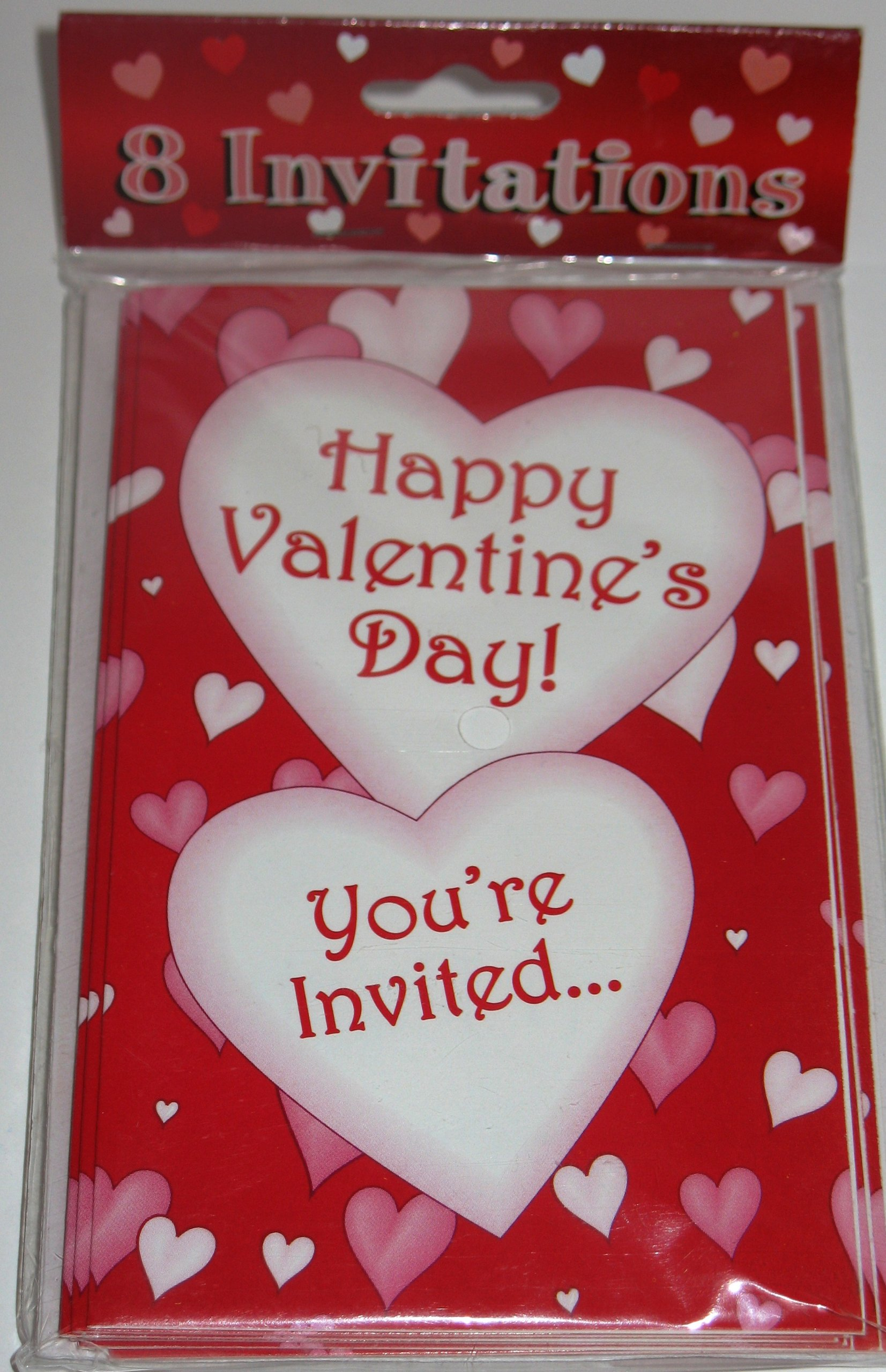 Valentine Day Invitations 8 Pack by Oriental Trading (Image #1)