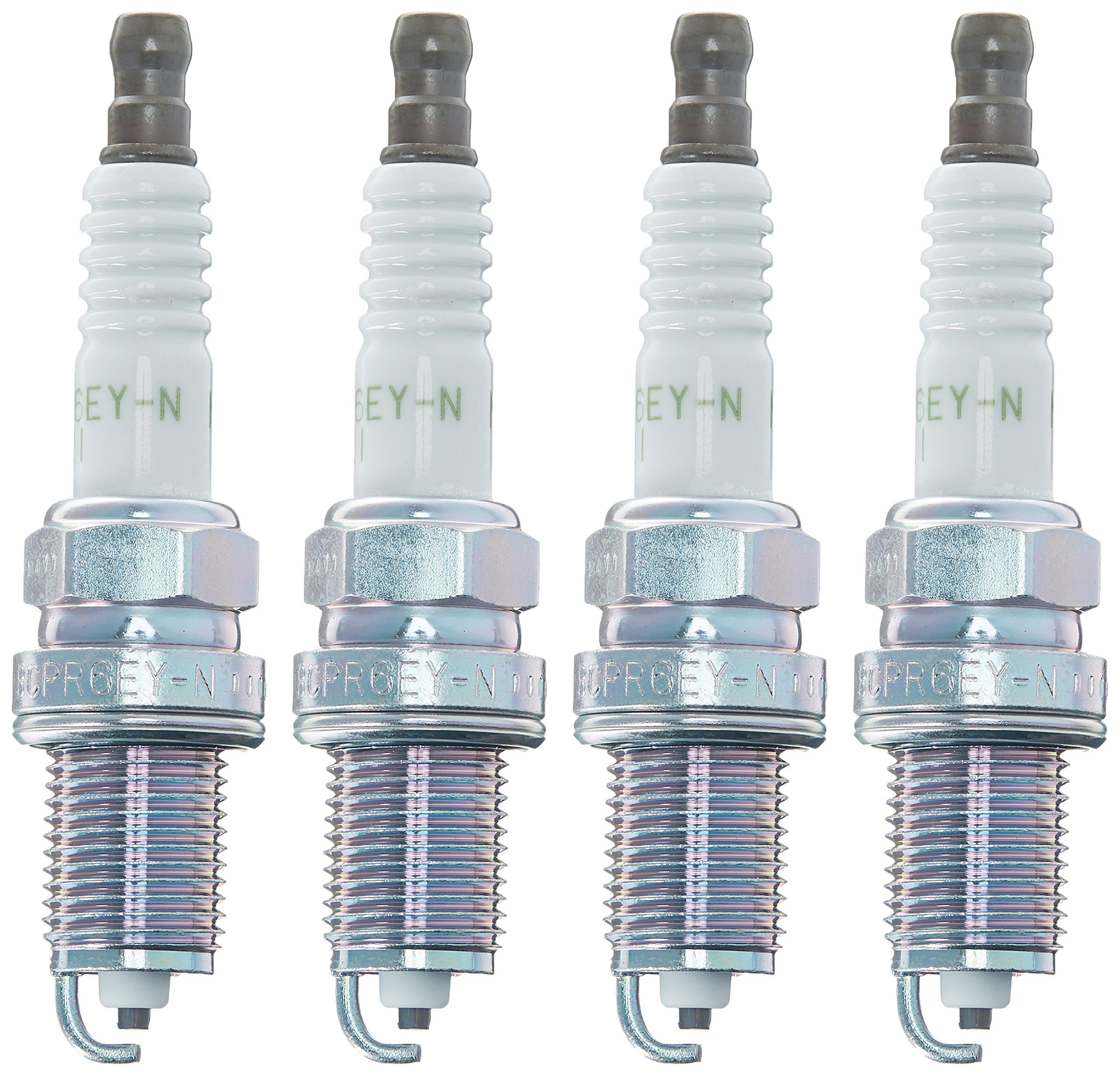 NGK 6262 BCPR6EY-N-11 V-Power Spark Plug, Pack of 4