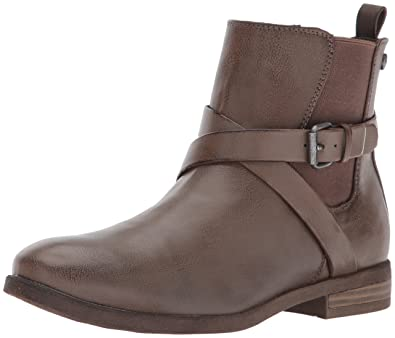 Roxy Women's Ortiz Ankle Bootie, Chocolate, ...