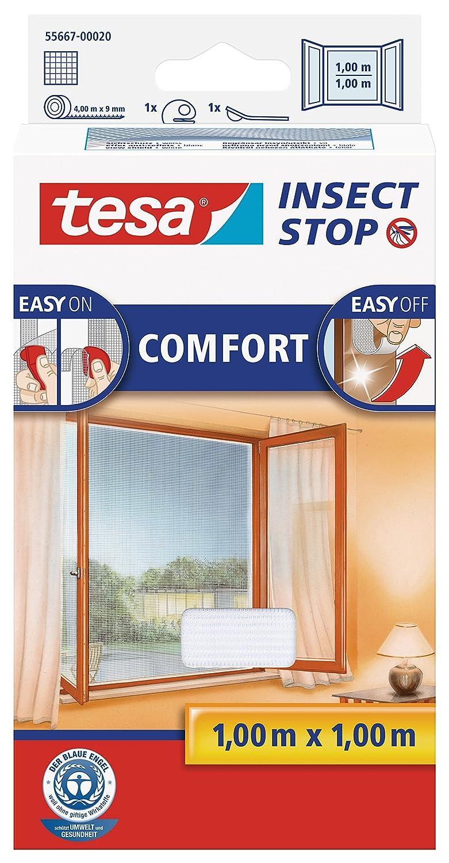 tesa Insect Stop COMFORT Fliegengitter für Fenster - Insektenschutz ...