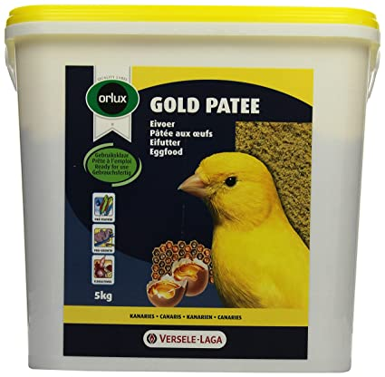 Versele laga Orlux Gold Patee Canary Egg food 5kg