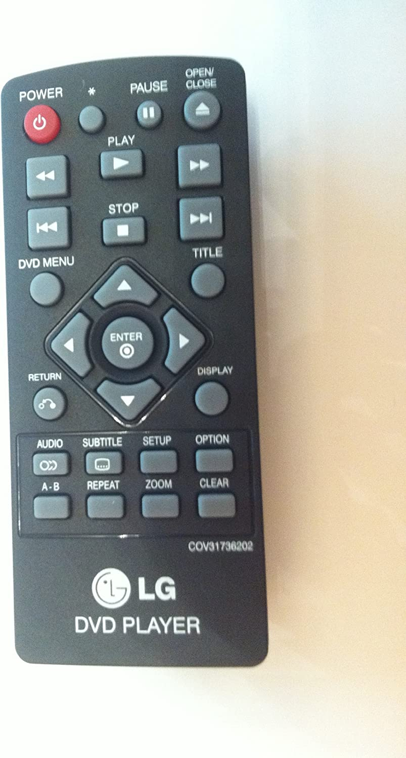 New LG Brand DVD Remote Control for All LG Brand DVD Player, USA Quick