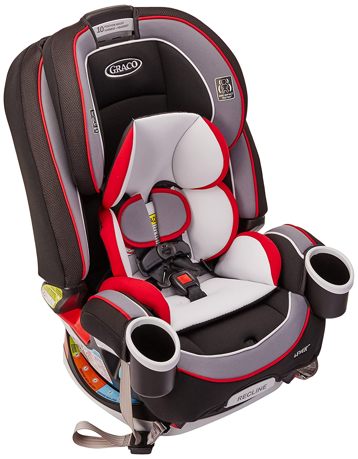Amazon.com  Graco 4ever All-in-One Convertible Car Seat Cougar  Baby  sc 1 st  Amazon.com & Amazon.com : Graco 4ever All-in-One Convertible Car Seat Cougar ... islam-shia.org