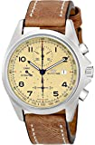 "Glycine Unisex 3924-15AT-LB7BH ""Combat"" Stainless Steel Automatic Watch with Brown Leather Band"
