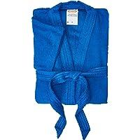 Roupão Lepper Confetti Azul Médio Pacote de 1 Algodão Tradicional