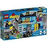 LEGO DUPLO DC Comics Super Heroes Batman Batcave Challenge 10842, Preschool, Pre-Kindergarten, Large Building Block Toys for Toddlers