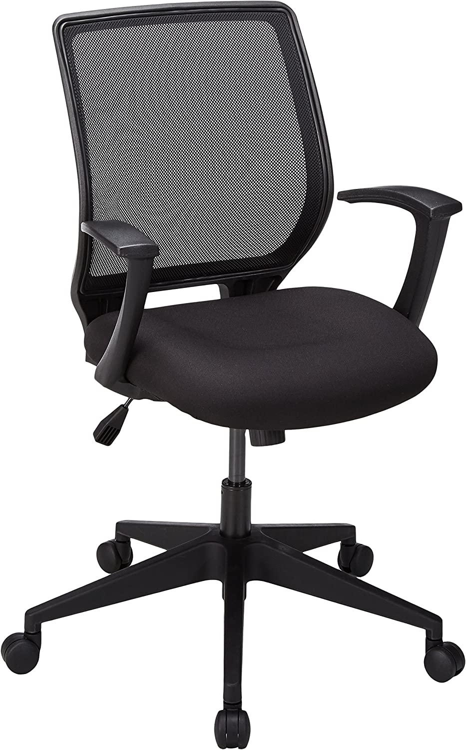 Lorell LLR84868 Executive Mid-Back Work Chair 2.6 Height X 62.5 Width X 26.8 Length Black