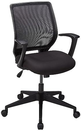 Lorell LLR84868 Executive Mid-Back Work Chair 2.6 Height X 62.5 Width X 26.8 Length Black