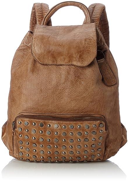 Td0113ol, Womens Backpack Handbag, Grün (Olive), 13.5x35x36.5 cm (B x H T) Taschendieb