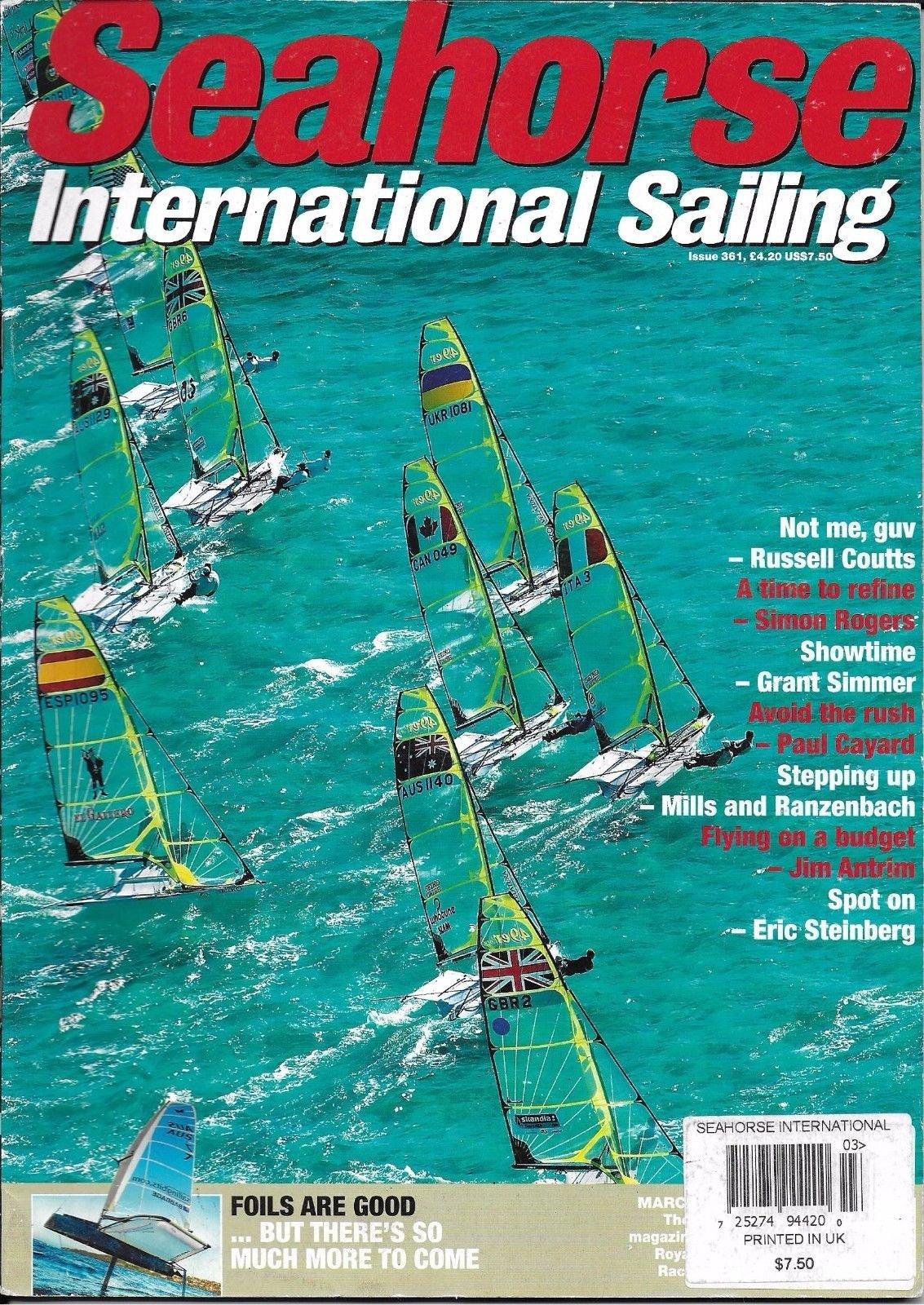 Seahorse International Sailing magazine March 2010 ebook
