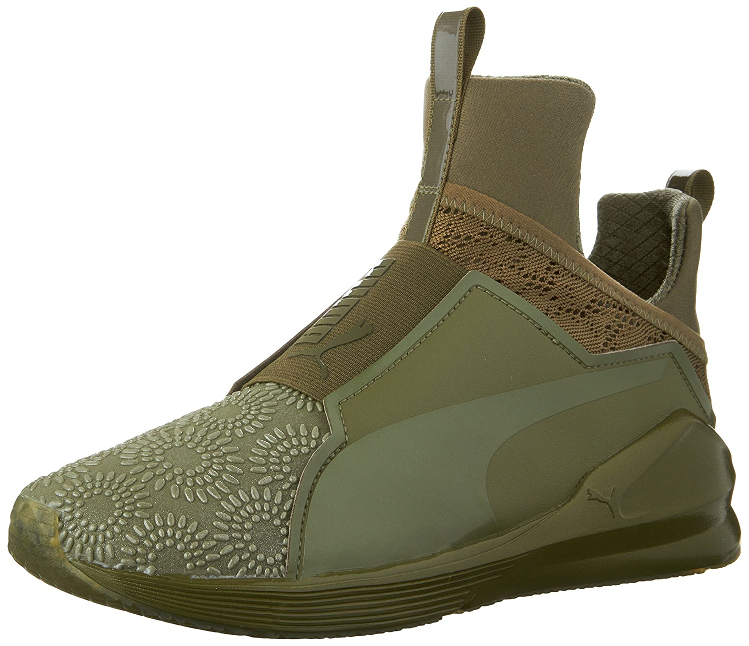 PUMA Women's Fierce Krm Cross-Trainer Shoe B01FE0J2SG 6.5 B(M) US|Burnt Olive/Puma Black