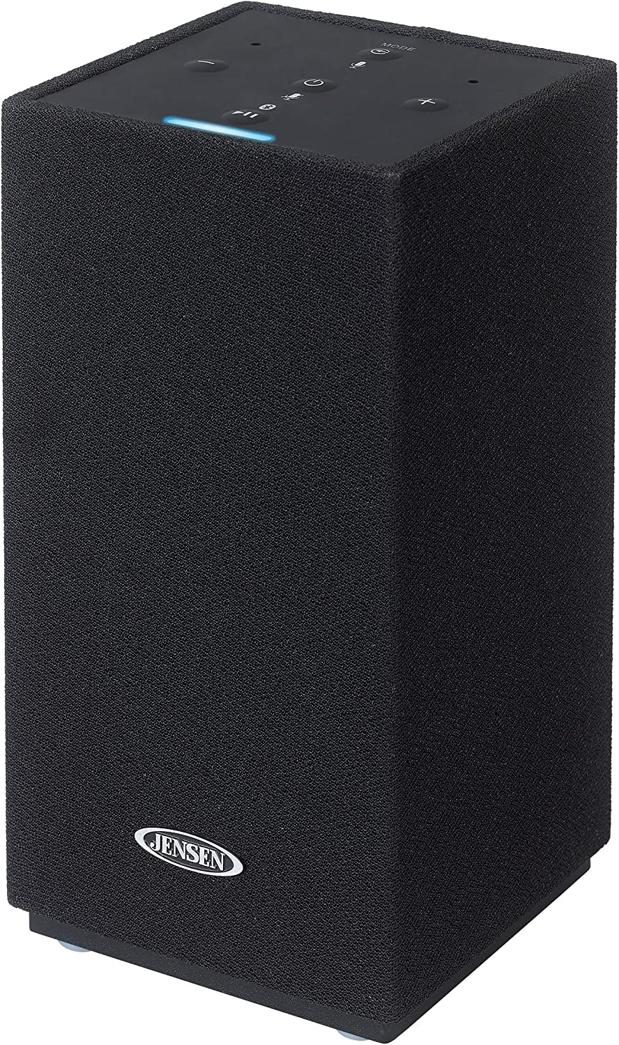 JENSEN JSB-550 Amazon Alexa-Enabled Bluetooth/Wi-Fi Wireless Stereo Smart Speaker,Black