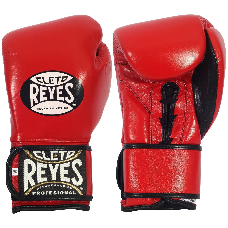 Cleto Reyes Hybrid Lace/Hook and Loop Training Gloves, RETG2 BK RETG2 BKLARGE-P