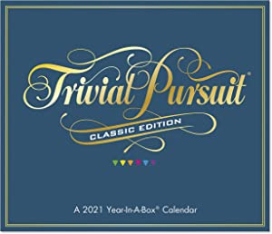 2021 Trivial Pursuit Master Edition Year-In-A-Box Calendar (LMB1510021)