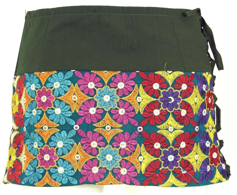 Gonna a Portafoglio Cacheur Cotone Guru-Shop Sidebag Gonne Corte