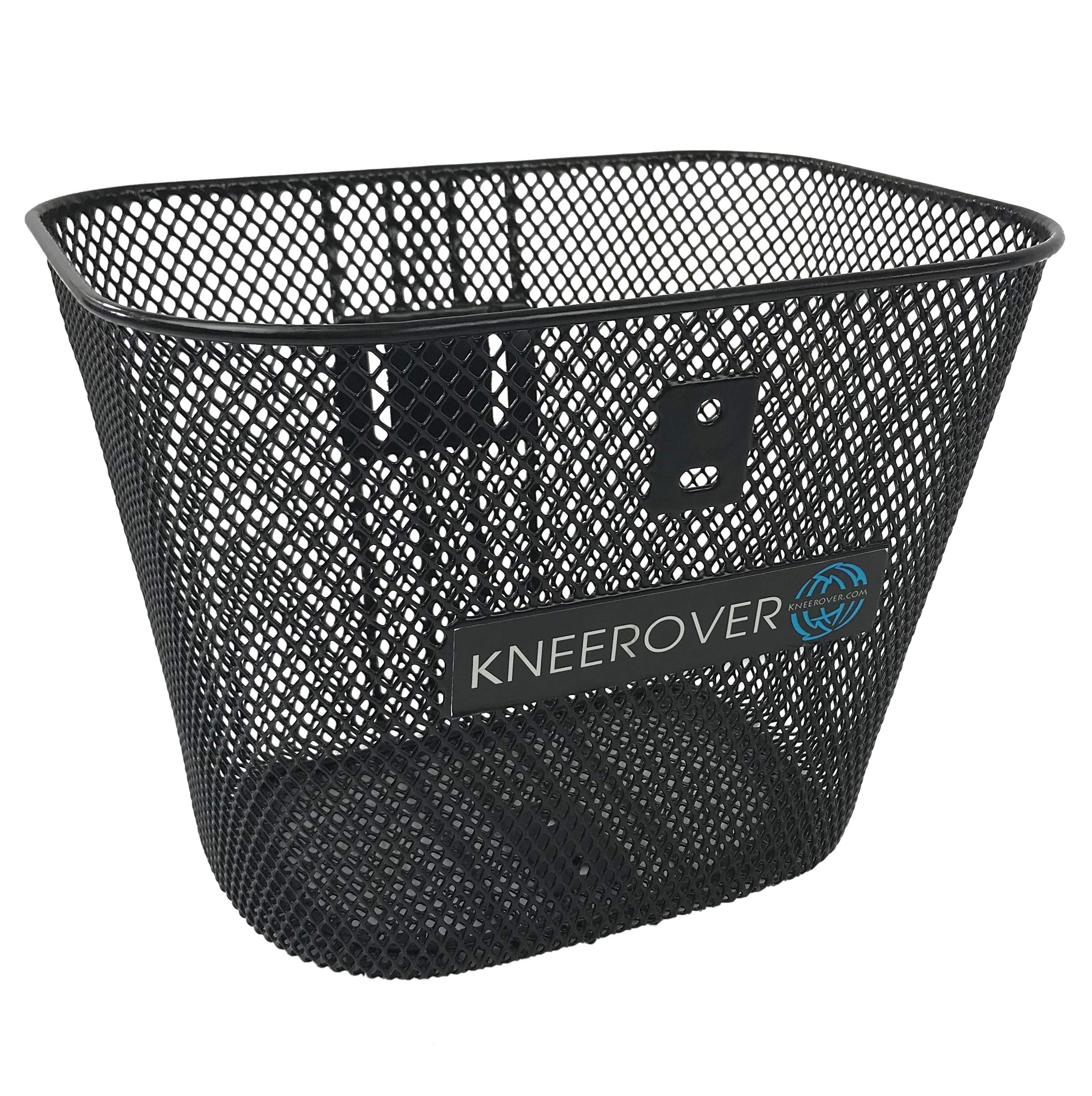 Knee Walker Basket Accessory - Replacement Part with Quick Release - INCLUDES ATTACHMENT BRACKET - Compatible with Most Knee Scooters by KneeRover