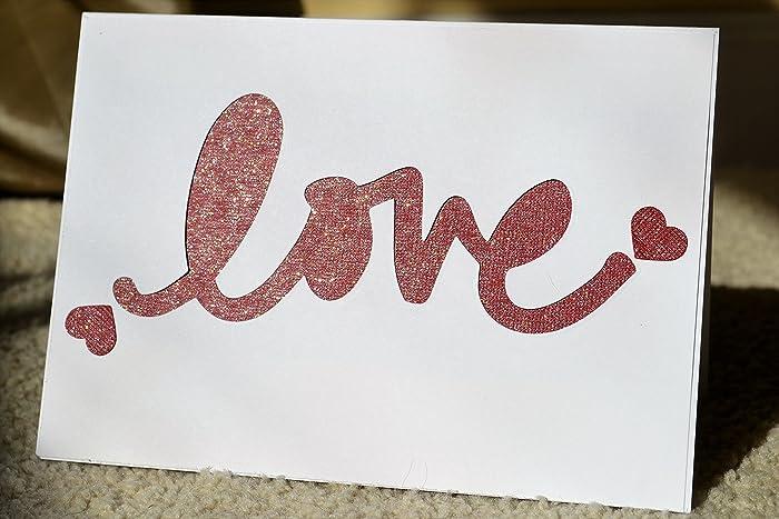 Amazon handmade happy valentines day card i love you card handmade happy valentines day card i love you card love wife card love m4hsunfo