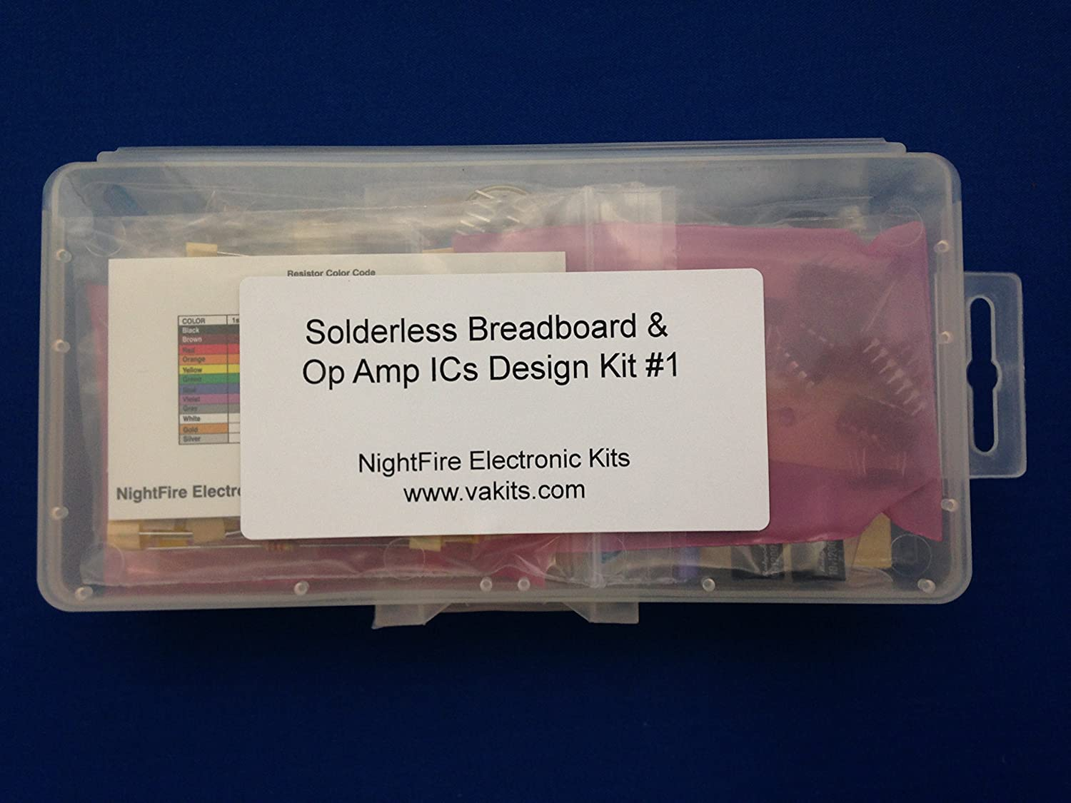 Solderless Breadboard Op Amp Ics Design Kit 1 Toys Family Series Amplifier Type General Purpose Number Of Circuits Games