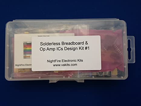 Solderless Breadboard & Op Amp ICs Design Kit #1
