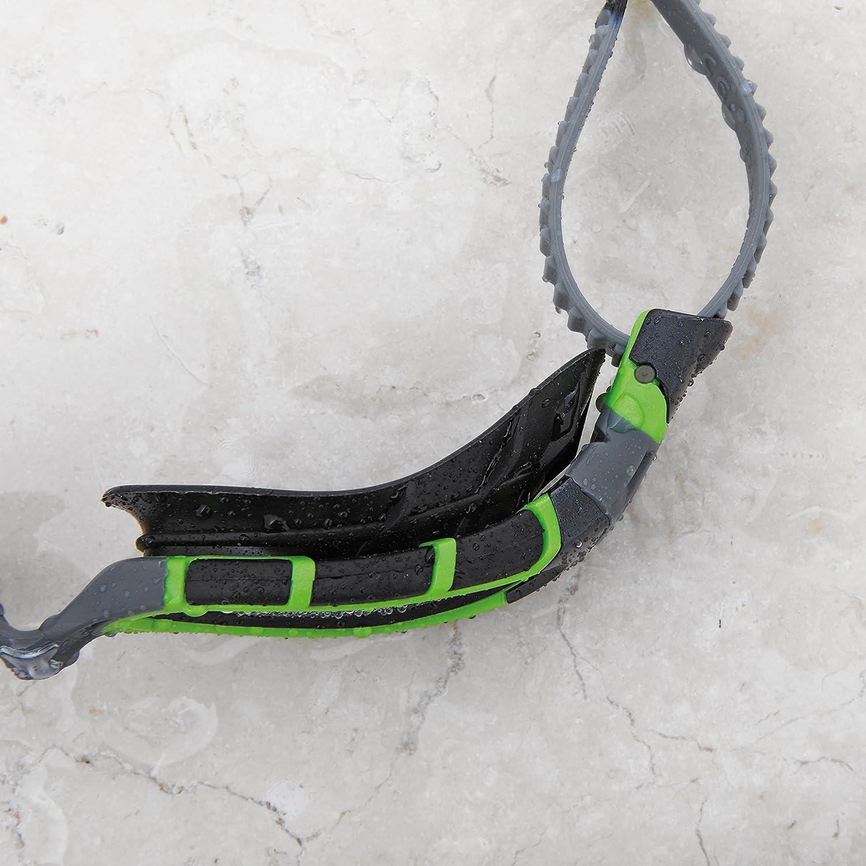 Zoggs Predator Flex Titanium Reactor Gafas de natación, Unisex, Green/Black/Smoke, Talla única: Amazon.es: Deportes y aire libre