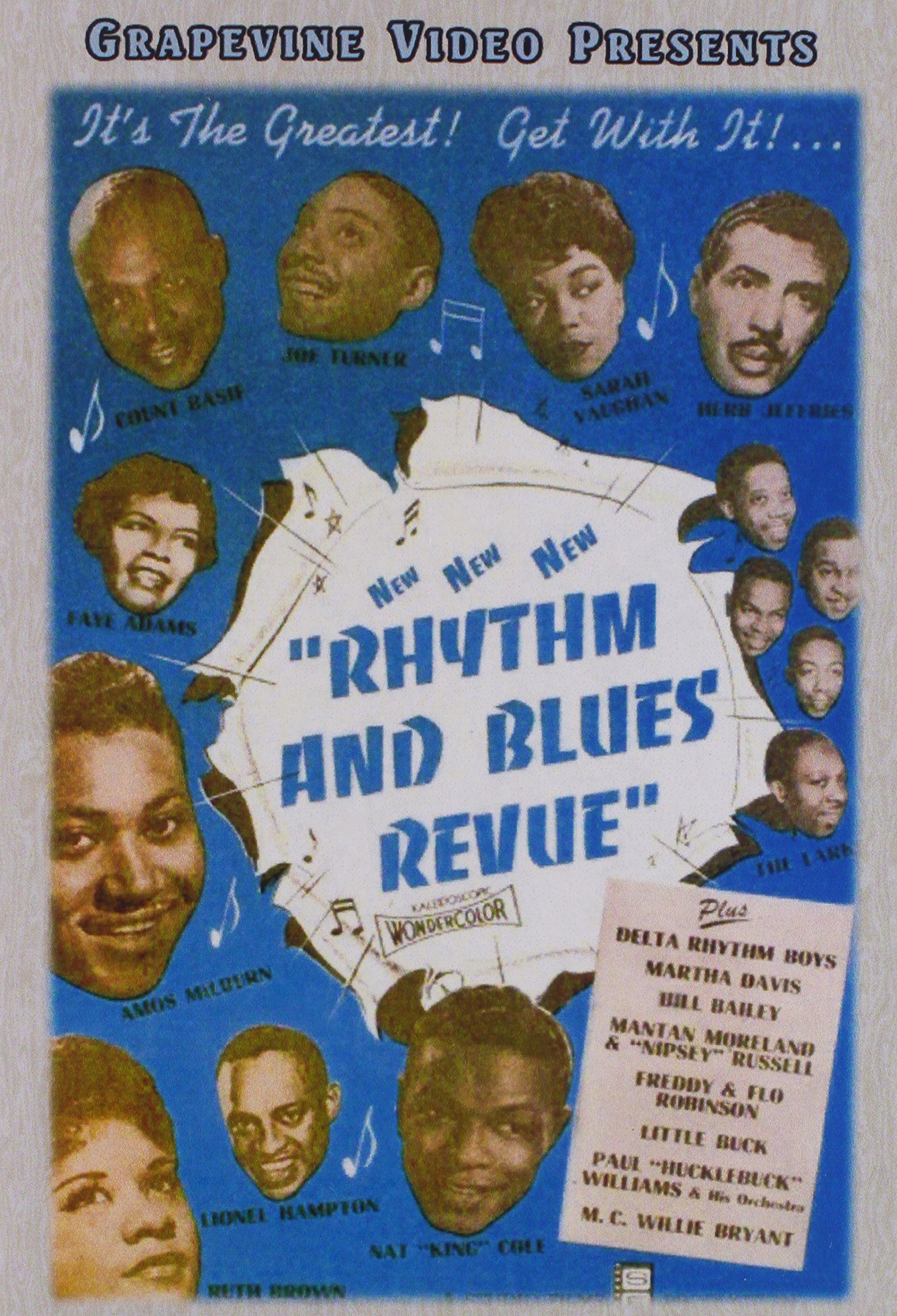 DVD : Rhythm And Blues Revue / Basin Street (DVD)