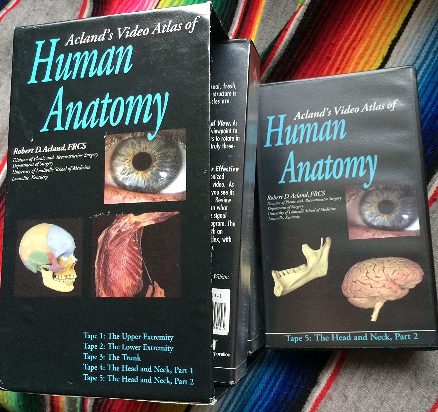 Amazon.com: Acland\'s Video Atlas of Human Anatomy: Movies & TV
