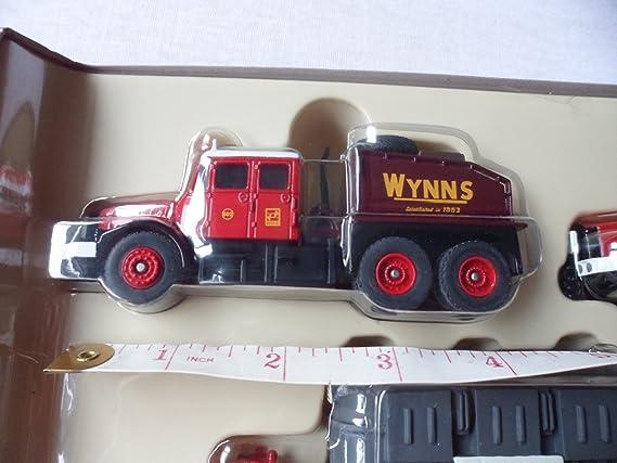Corgi 1/76 Scale Diecast DG198003 Scammell Contractor x2 Trailer & Load - Wynns: Amazon.es: Juguetes y juegos