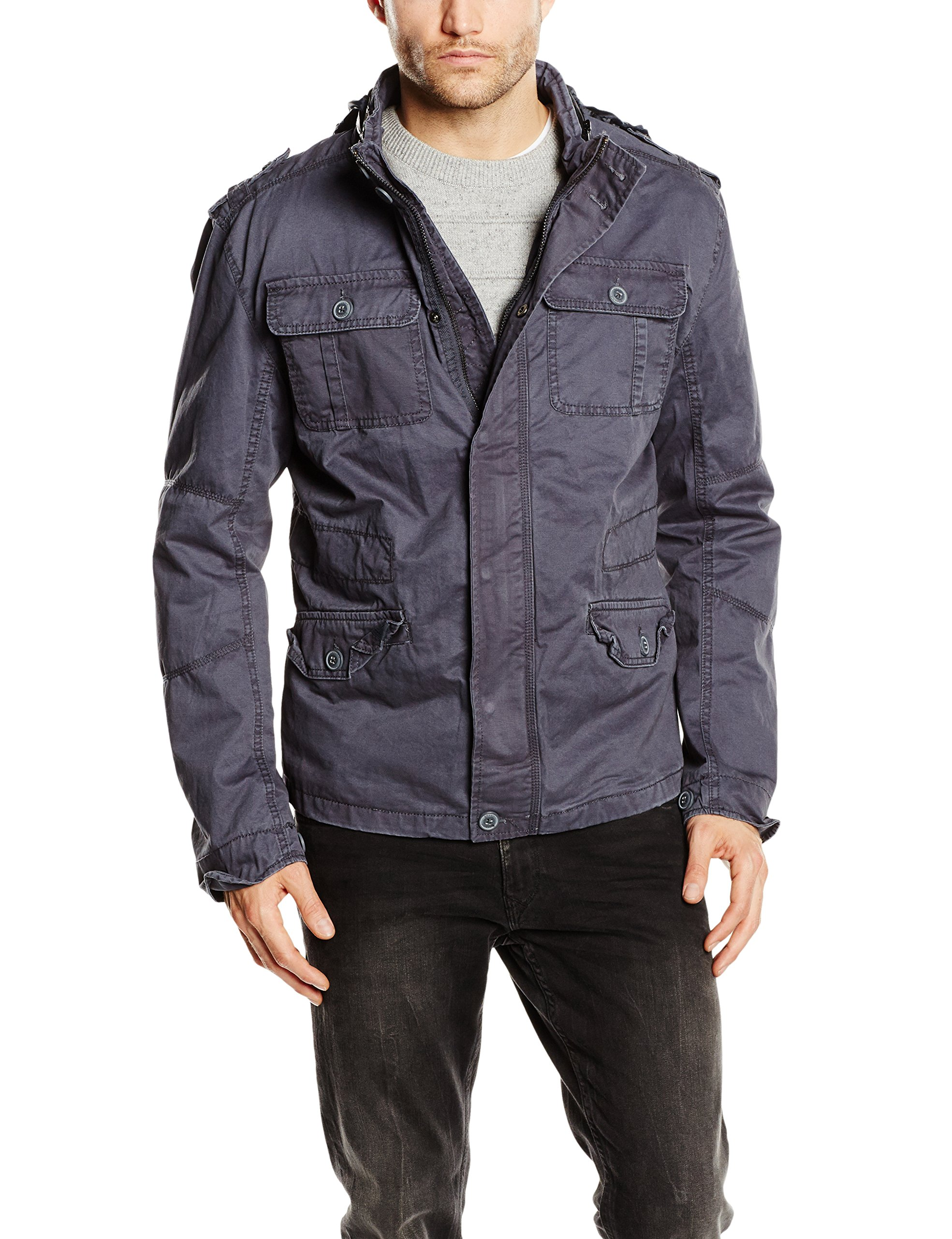 Brandit Britannia Jacket Indigo Size M