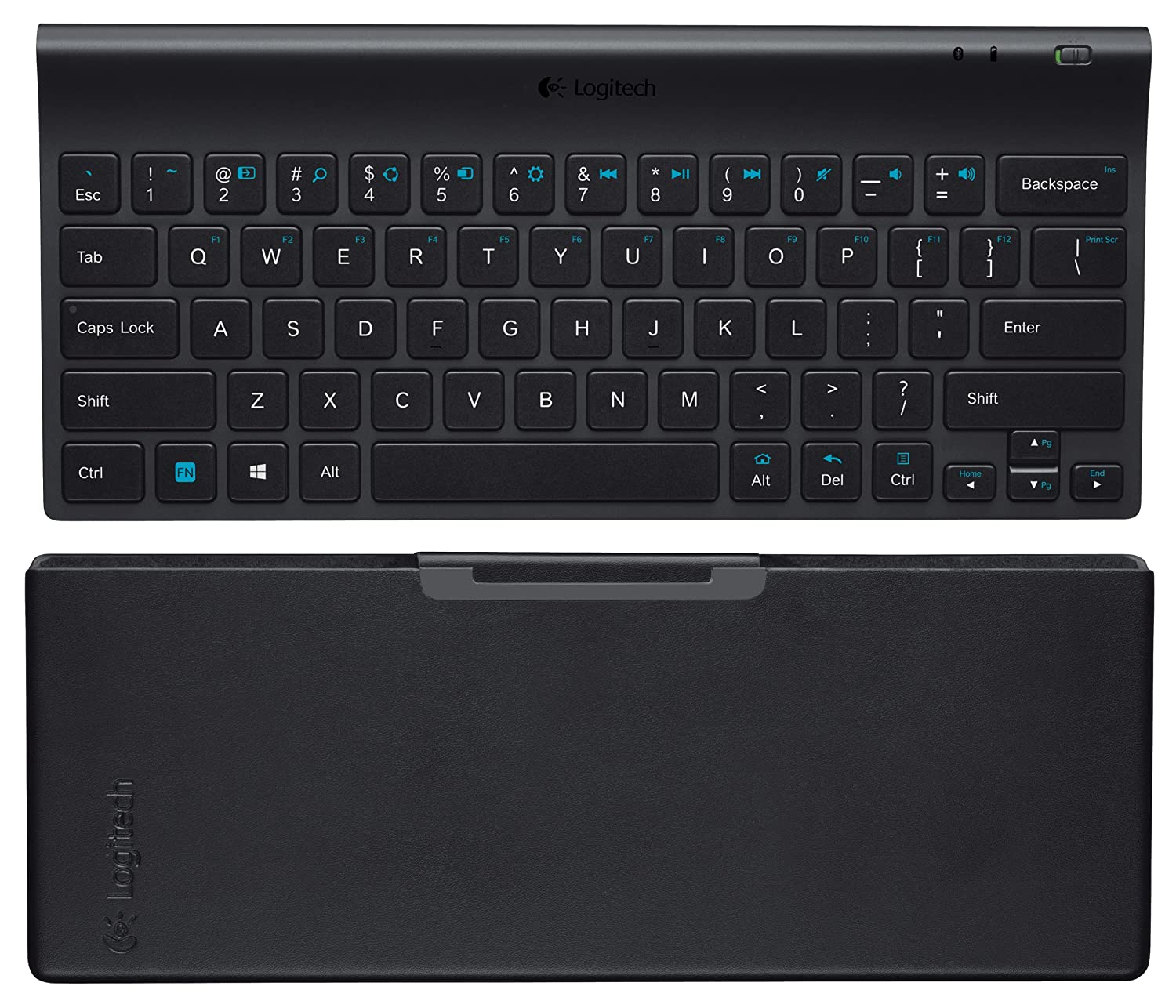 Windows 8 computer - Amazon Com Logitech Tablet Keyboard For Windows 8 Windows Rt And Android3 0 Computers Accessories