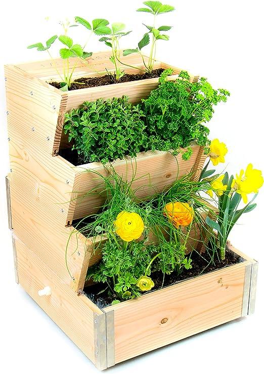 Easy jardín el jardín Vertical con compostador integrado 500 B ...