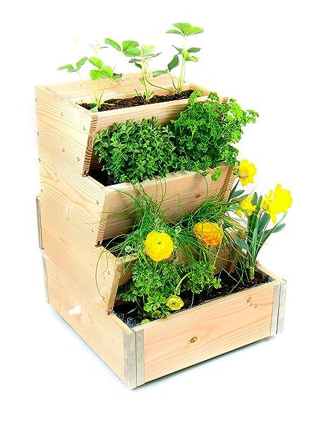 Easy jardín el jardín Vertical con compostador integrado 500 B