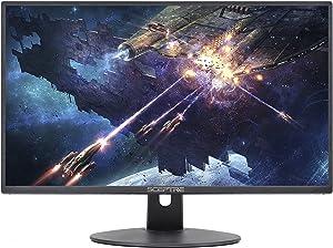 Sceptre 20 Inch LED Gaming Monitor 75Hz 1600x900 HDMI VGA Build-in Speakers, Metal Black 2018