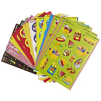 Trend Enterprises Scratch n Sniff Stinky Stickers - Set of 480 - Sweet Scents: Industrial & Scientific