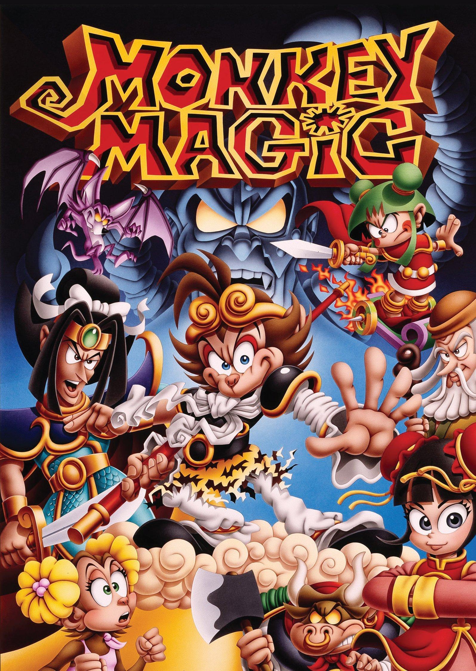 Monkey Magic Complete TV Series (Monkey Magic Complete TV Series)