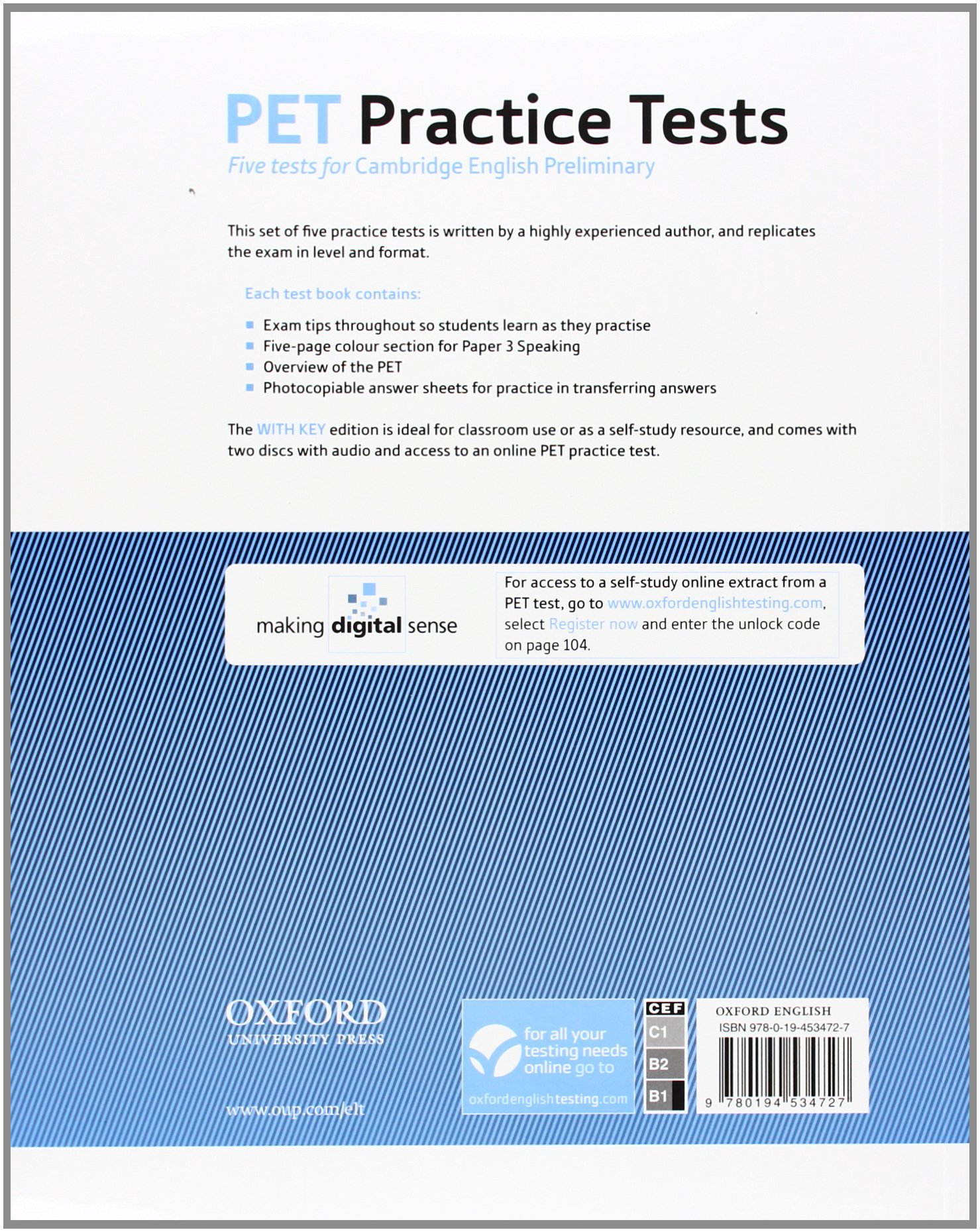 PET Practice Tests: Diana Fried-Booth: 9780194534727: Amazon com: Books
