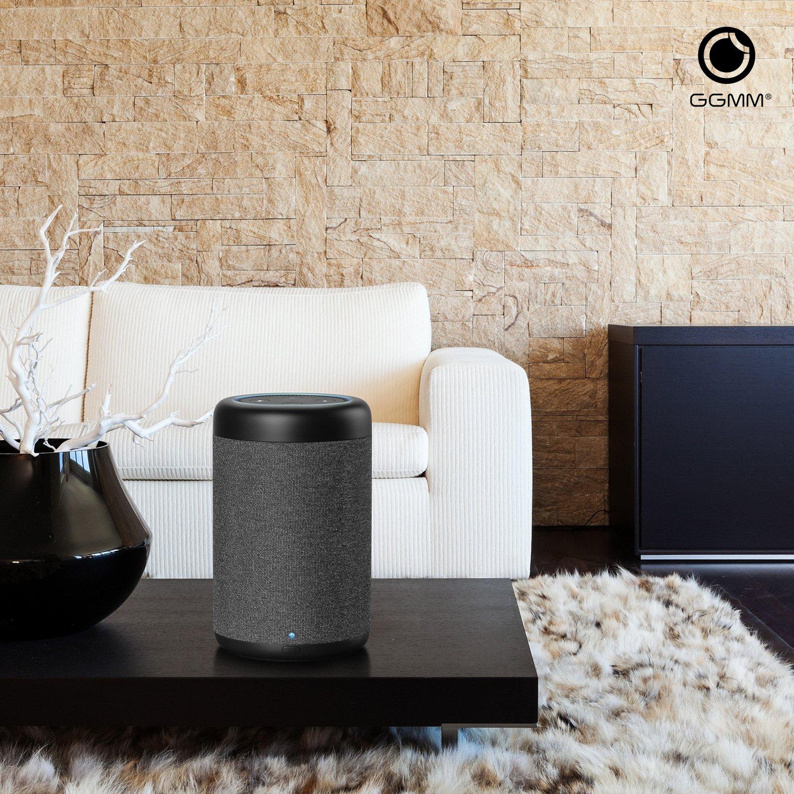 GGMM D6 Portable Speaker for Amazon Echo Dot 2nd Generation, 20W Powerful True 360 Alexa Speakers (DOT SOLD SEPARATELY) by GGMM (Image #8)