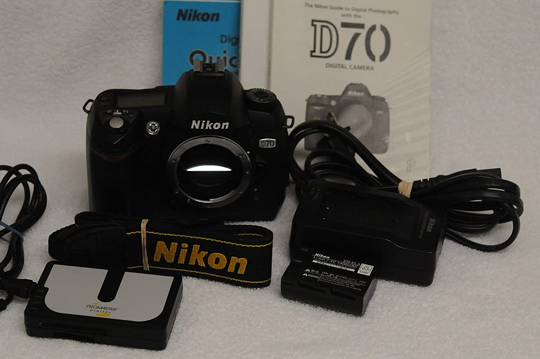 Nikon D70 + Nikkor AF-S DX ED 18-5mm F3.5-5.6G II: Amazon.es ...