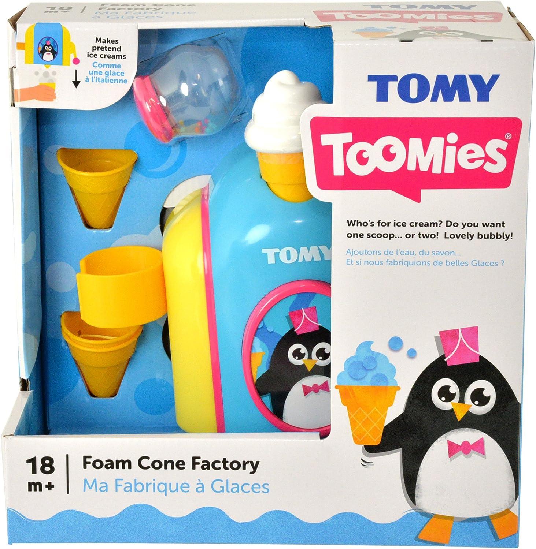 TOMY Schaumeismaschine Spielzeug Kinder lernen spielen Wassserspielzeug Baden
