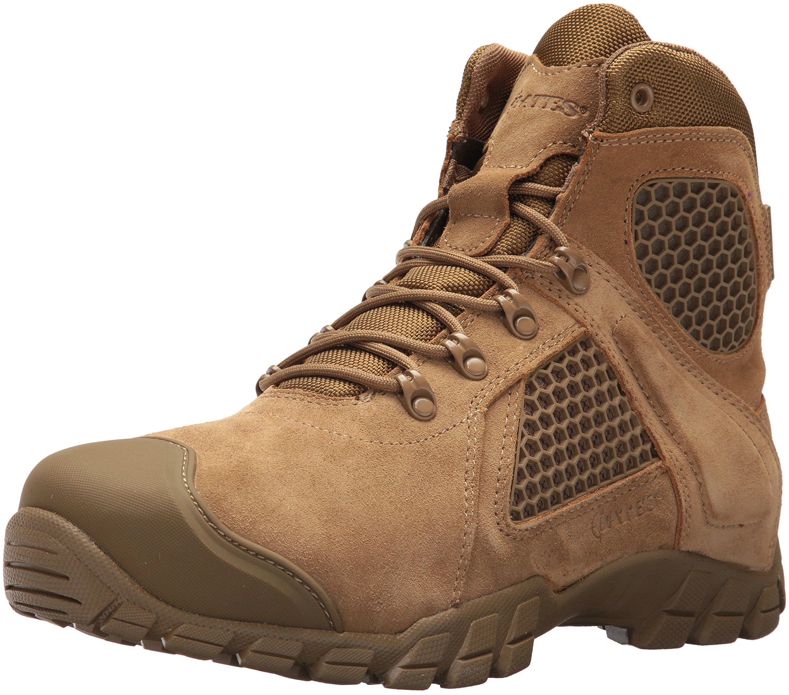 f052a6450ee Bates Men's Shock FX Military and Tactical Boot, Coyote, 08.5 2E US