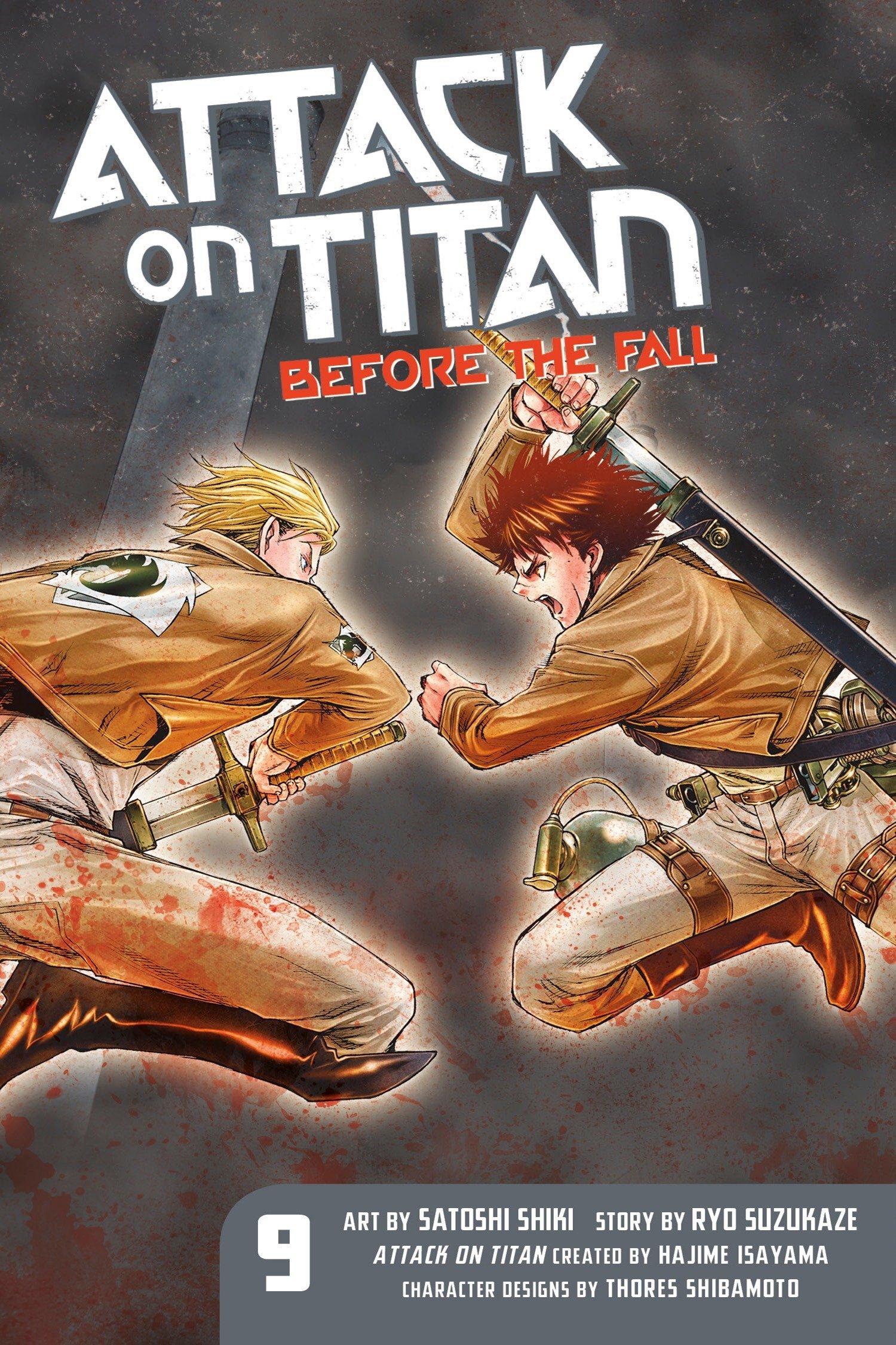 Attack on Titan: Before the Fall 9 pdf epub