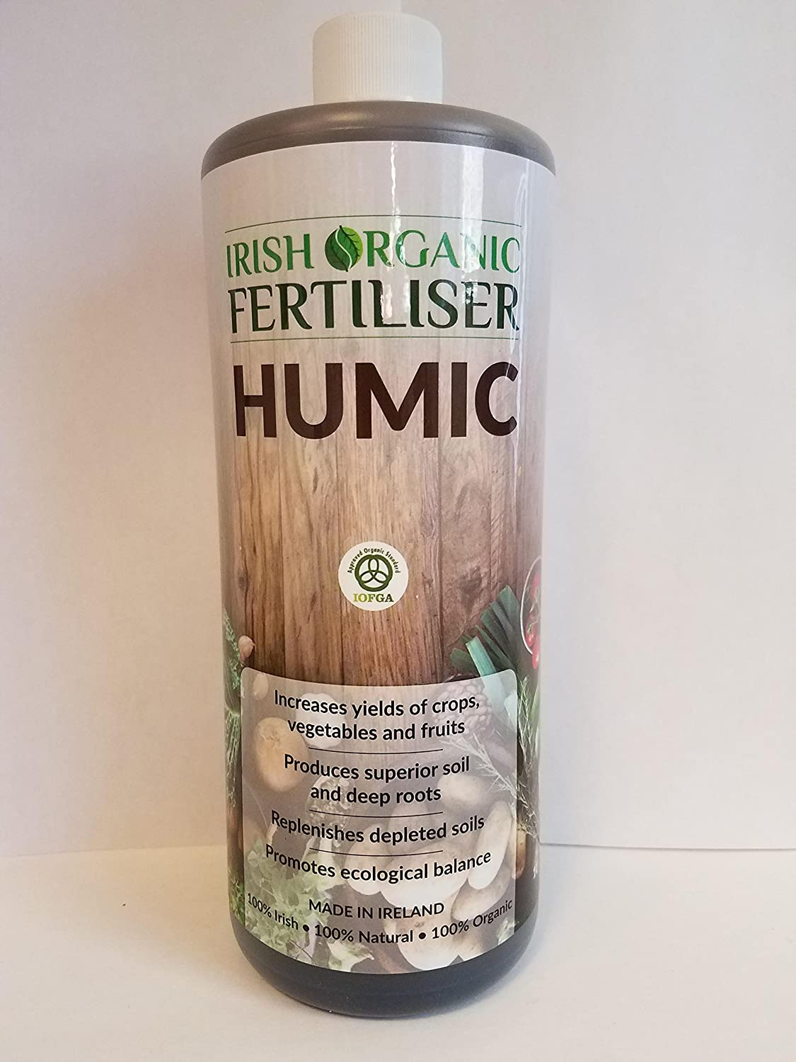 Irish Organic Fertilizer - All Natural & Made By Nature - 32oz