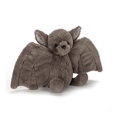 Jellycat Bashful Bat Stuffed Animal, Small, 7 inches: Toys & Games
