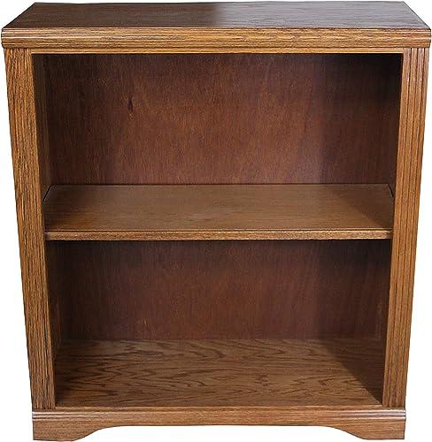 American Heartland Oak 36″ Open Bookcase