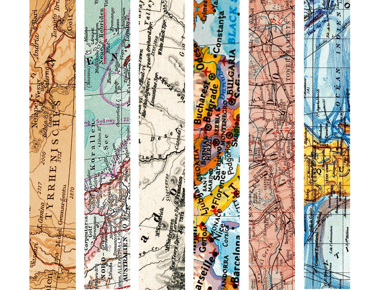 Map Tape Set breit breit breit - 60 m Masking Tape, 30 mm breit B071NPKTBH | Deutschland Outlet  db28fb