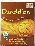 NOW Organic Dandelion Cleansing Herbal Tea,24-Count