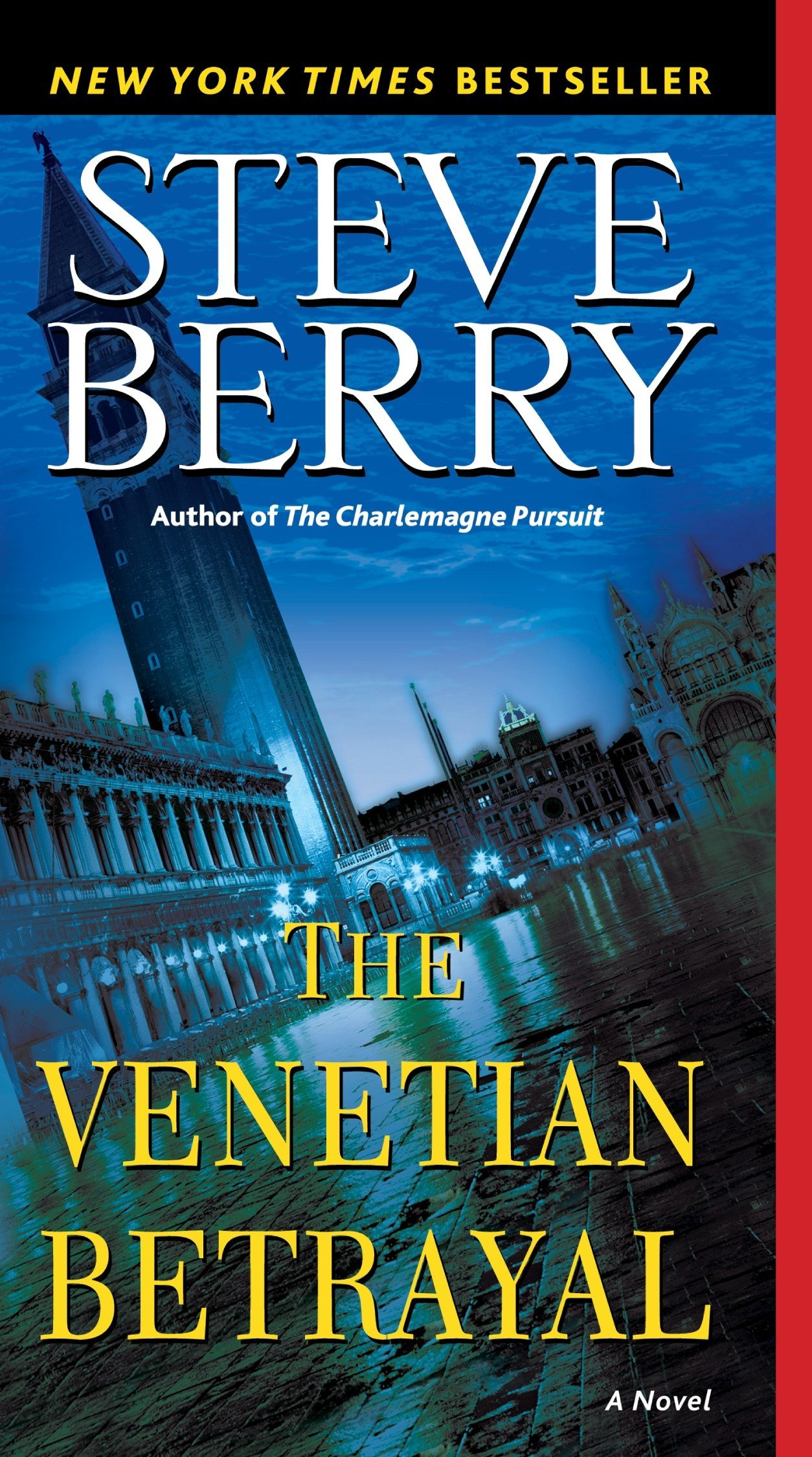 Amazon.com: The Venetian Betrayal (Cotton Malone) (9780345485786): Steve  Berry: Books