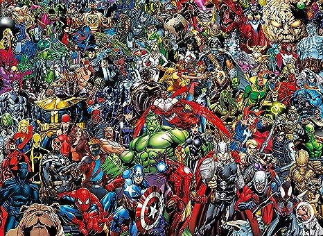 1000ピース マーベルキャラクター ジグソーパズル 6950 Marvel アベンジャーズ Avengers 並行輸入品
